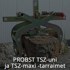 Probst TSZ-uni ja TSZ-maxi -tarraimet.jpg