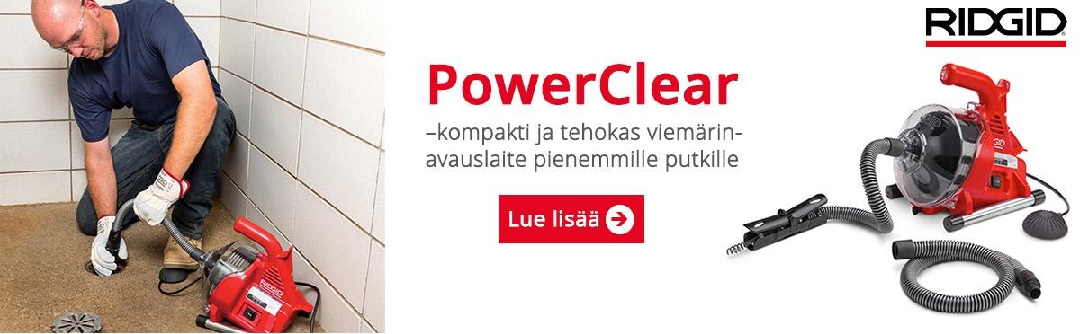 Ridgid PowerClear -lue lisää