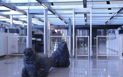 Machine Tool Ceia metallinilmaisinportit Helsinki-Vantaan lentokenttä