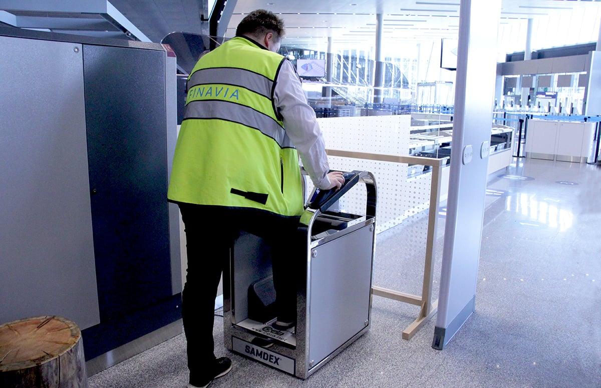 Machine Tool SAMDEX Helsinki-Vantaan lentokenttä
