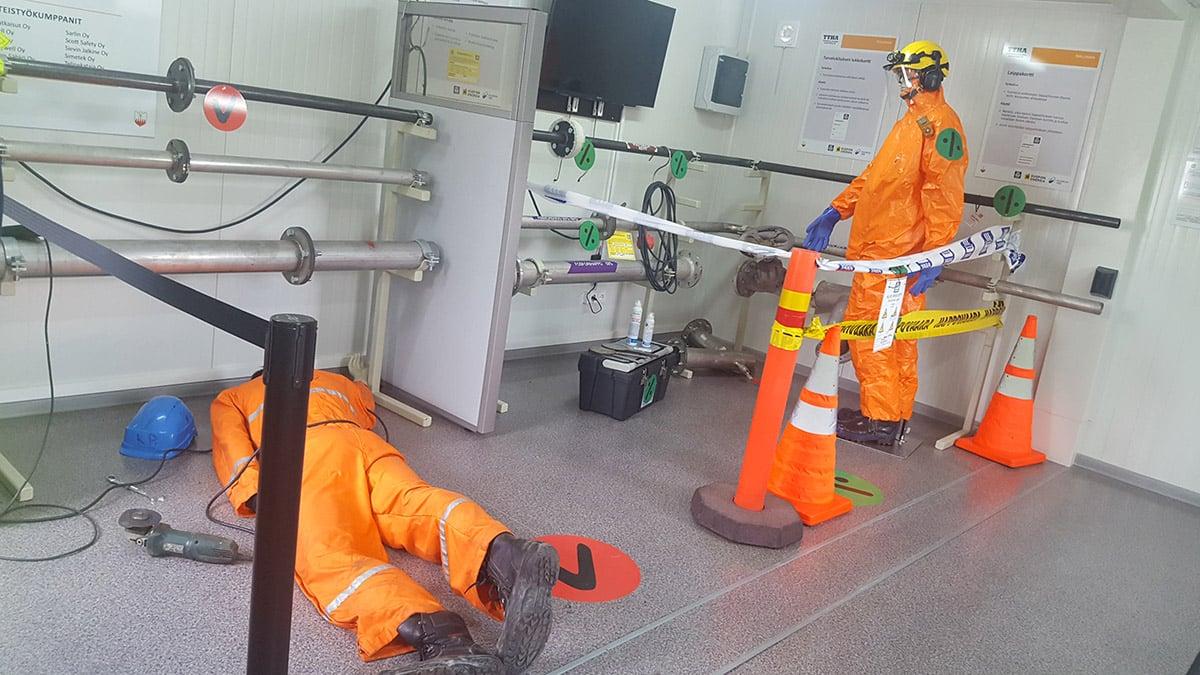Työturvallisuuden harjoitusalue_Machine Tool