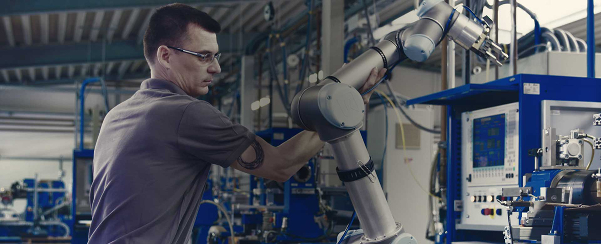 UR5_Cobots_Machine Tool