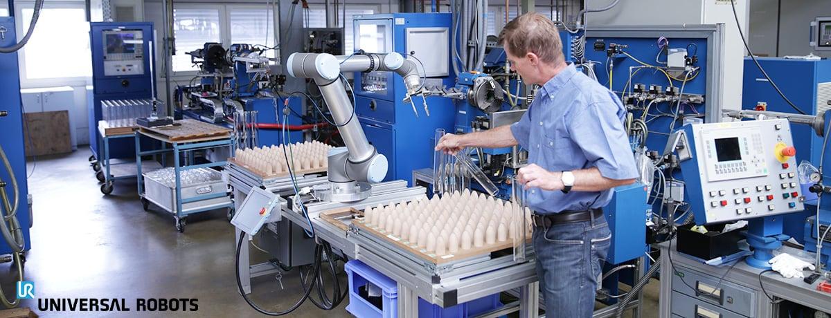 Machine Tool-Universal Robots-robotiikka 2431
