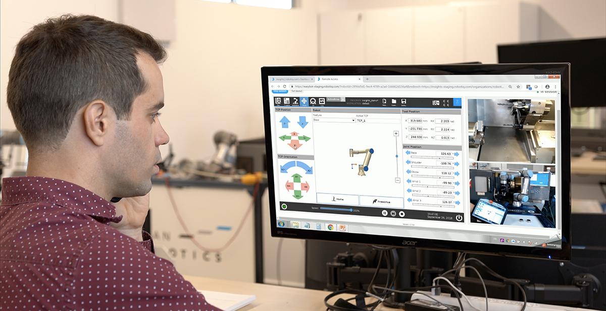Robotiq Insight -etäyhteys Machine Tool