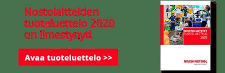 Nostolaitteiden tuoteluettelo 2020banneri