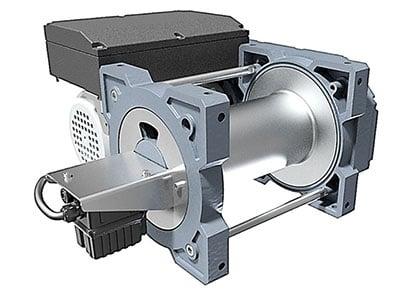 Huchez TR Boxter Inox -sähkövintturi
